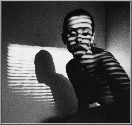 Striped portrait/ 1997